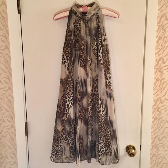 71ce799ba42d Joseph Ribkoff Dresses | Animal Print Sleeveless Dress | Poshmark